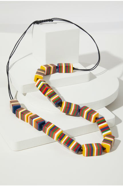 Photo of Multicoloured Cube Necklace