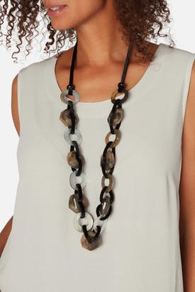 Photo of Horn Links Necklace