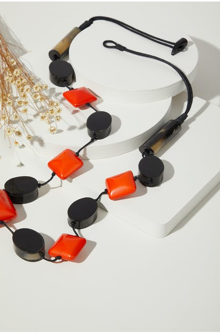 Photo of Horn Detail Necklace