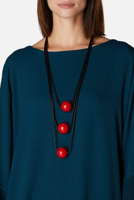 Photo of Triple Sphere Necklace