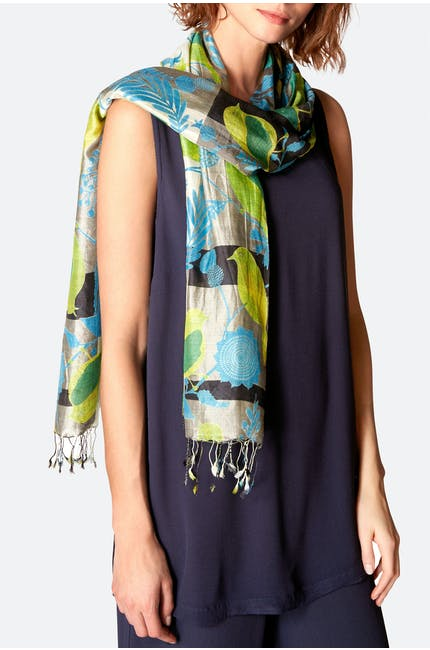 Photo of Deco Robin Silk Scarf