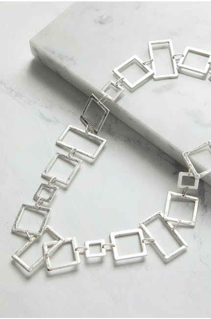 Photo of Mini Squares Necklace