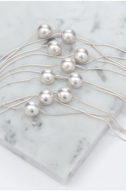 Myriad Of Spheres Necklace