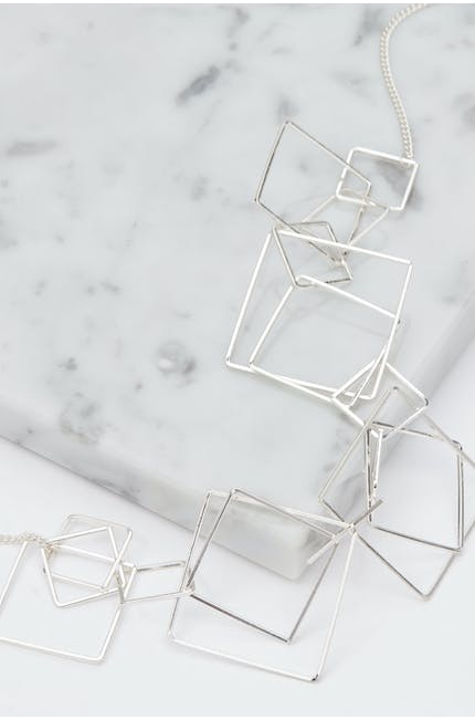 Photo of Myriad Of Squares Necklace