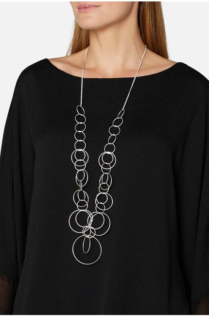 Infinite Hoop Necklace