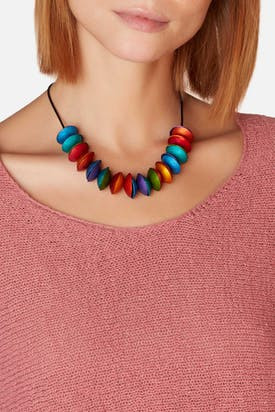 Photo of Double Disc Necklace