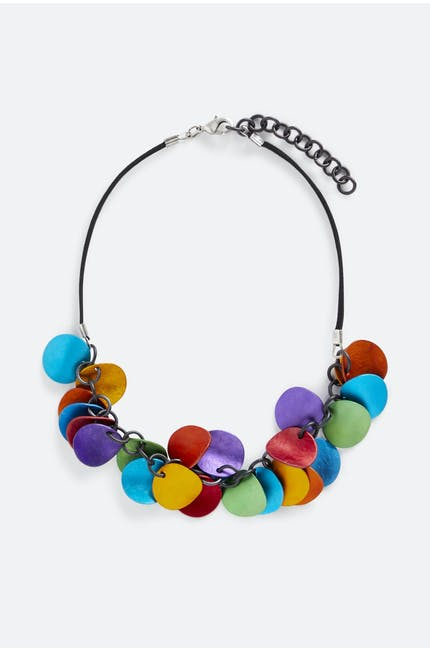 Curled Spheres Necklace