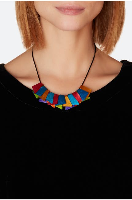 Oana Millet Multi Pendant Necklace