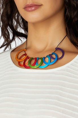 Photo of Curved Necklace