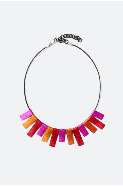 Oana Millet Triple Colour Necklace