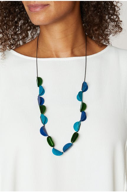 Folded Sphere Necklace