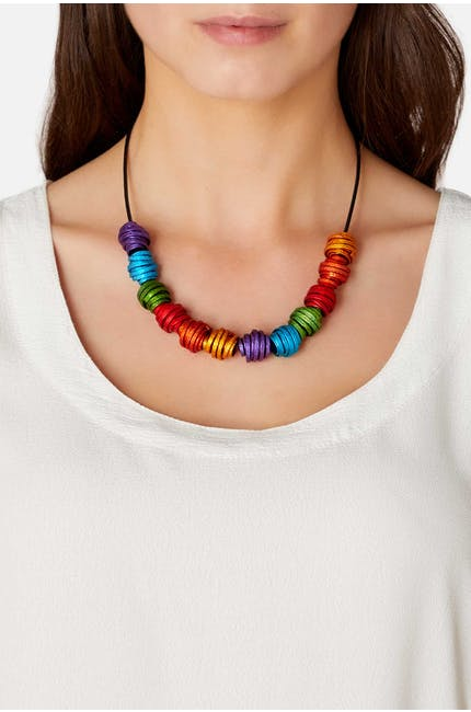 Oana Millet Mini Twists Necklace