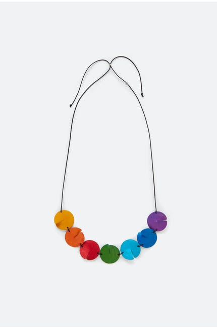 Oana Millet Split Disc Necklace