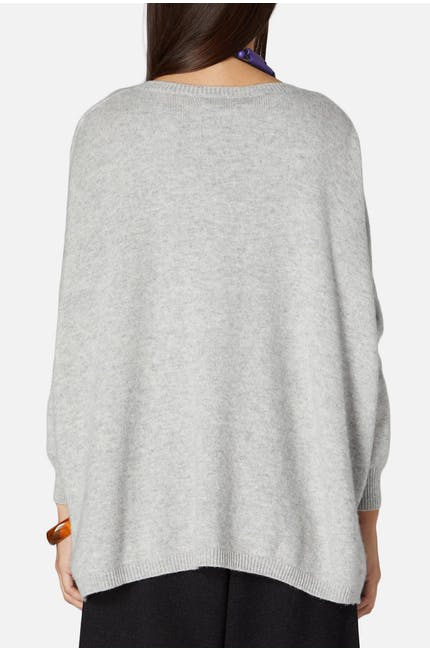 Cashmere Blend Easy Knit