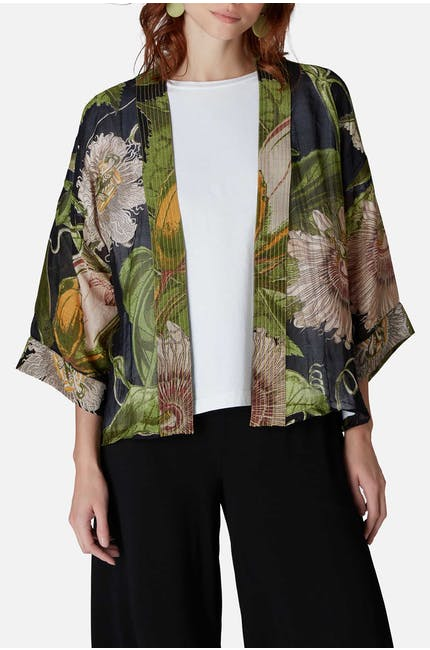 Photo of Kew Passion Flower Kimono