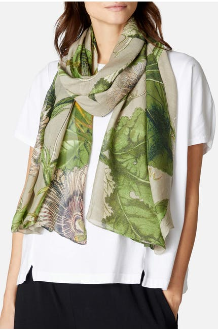 Photo of Kew Passion Flower Scarf