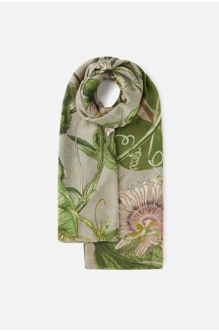 Kew Passion Flower Scarf