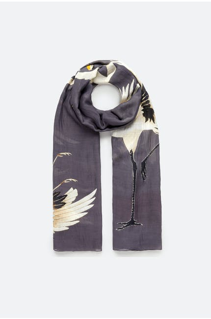 Photo of Stork Printed Scarf