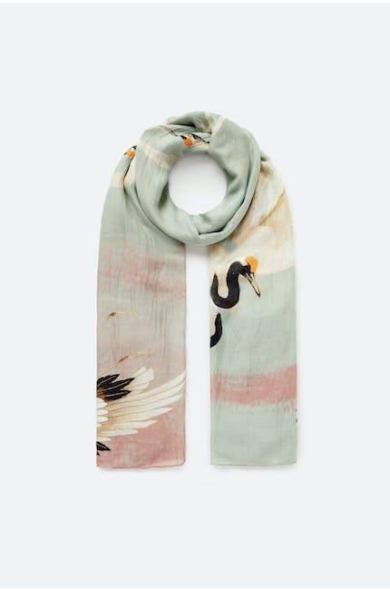 Photo of Stork Aqua Scarf