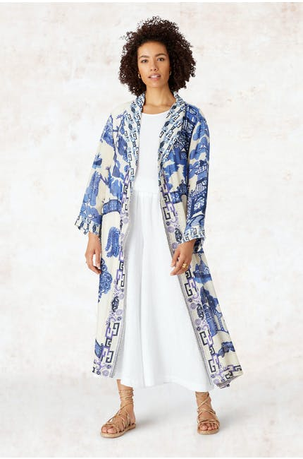 Photo of Willow Print Gown