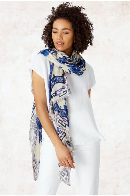 Photo of Willow Print Scarf