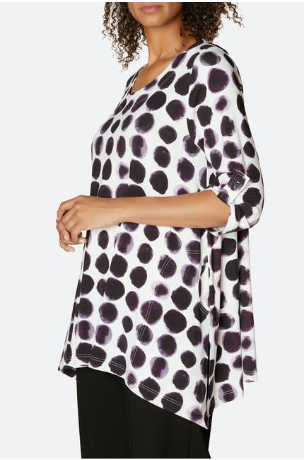 Mia Dots Jersey Top