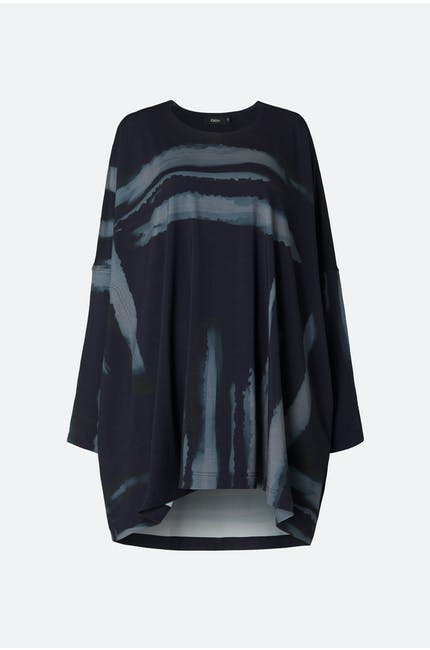 Blurred Stripe Tunic