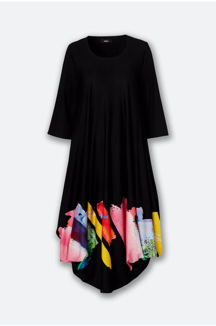 Utas Paint Hem Dress