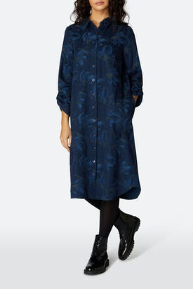Photo of Japanese Flower Shirt Dress