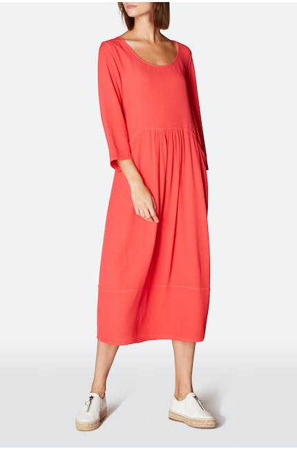 Soft Crepe Pocket Dress