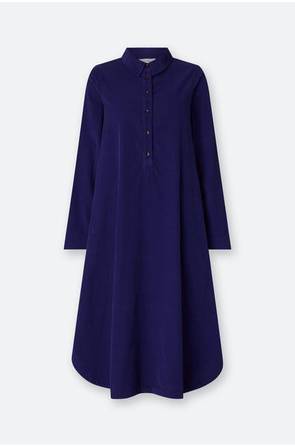 Photo of Cotton Babycord Shirt Dress
