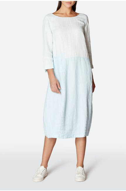 Photo of Chalk Linen Bubble Dress