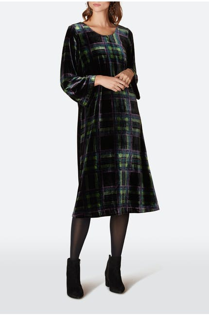 Photo of Tartan Velvet Dress