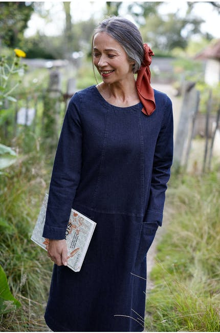 Photo of Stretch Denim Dress