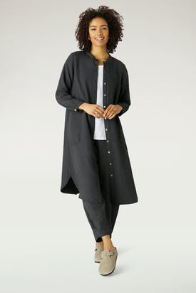 Photo of Soft Tencel Shirt Dress