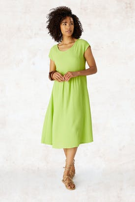 Photo of Crepe Gathered Dress