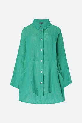 Photo of Crinkle Linen Shirt