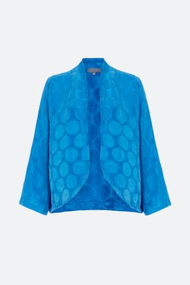 Photo of Silk Spot Jacquard Jacket