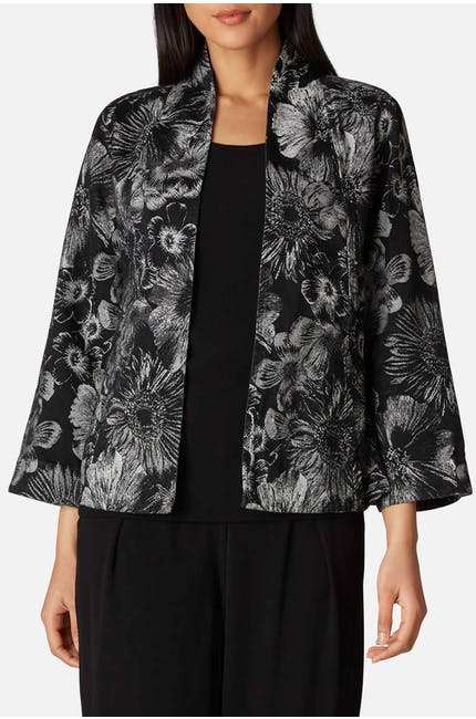 Jacquard Flower Jacket