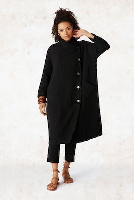 Photo of Linen Seersucker Coat