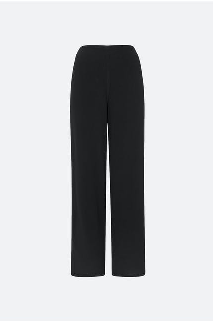 Soft Crepe Slim-Leg Trouser