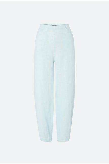 Photo of Chalk Linen Bubble Trouser