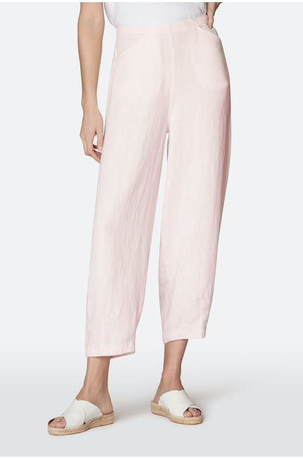 Chalk Linen Bubble Trouser