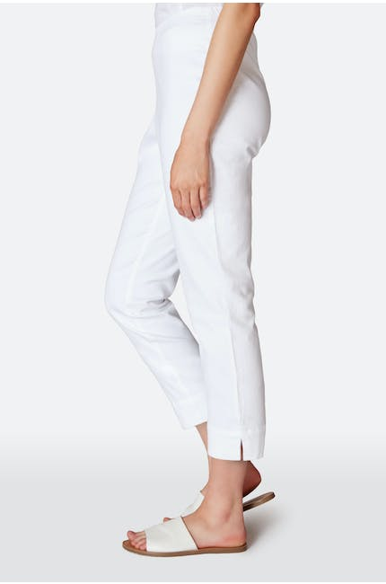 Stretch Cotton Twill Crop Trouser
