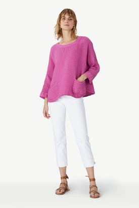 Photo of Stretch Cotton Crop Pant