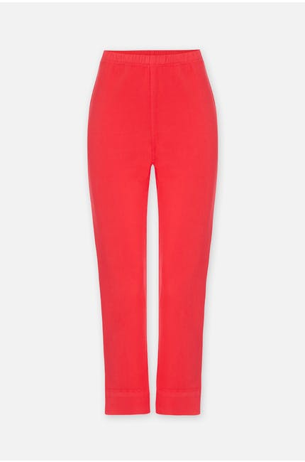 Photo of Stretch Cotton Crop Trouser