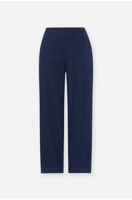 Stretch Denim Bubble Trouser