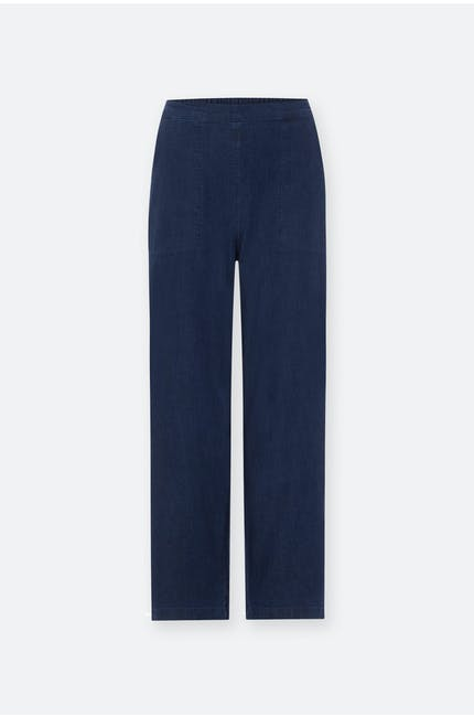 Photo of Stretch Denim Straight Trouser