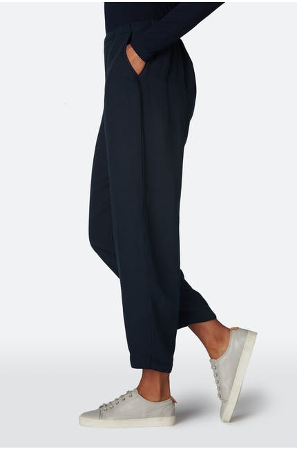 Slub Tencel Bubble Trouser