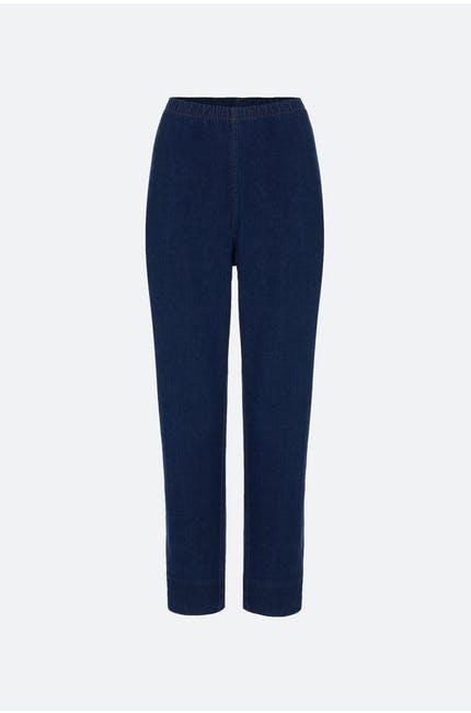 Stretch Denim Slim Trouser